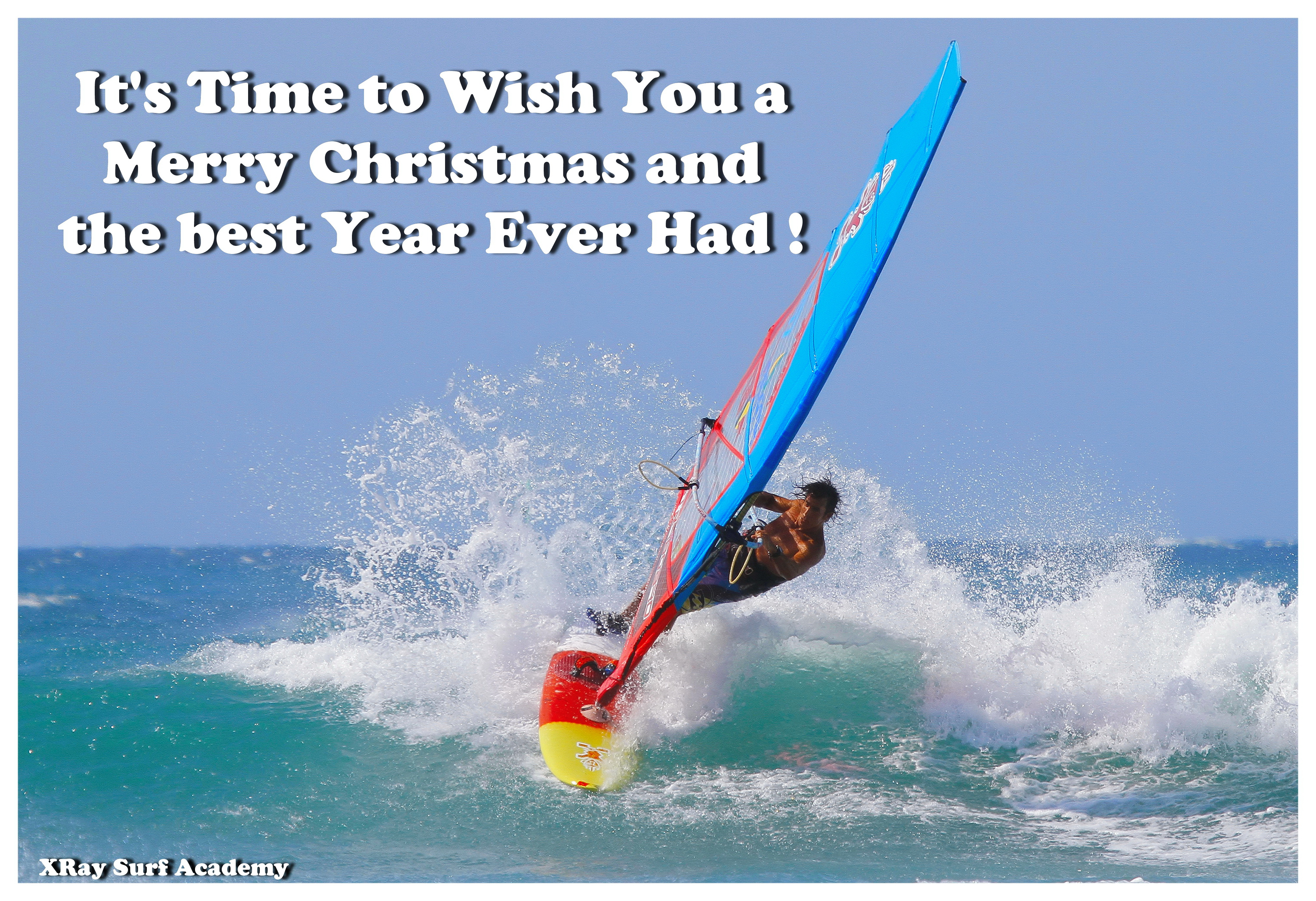 MERRY CHRISTMAS AND HAPPY NEW WINDY YEAR